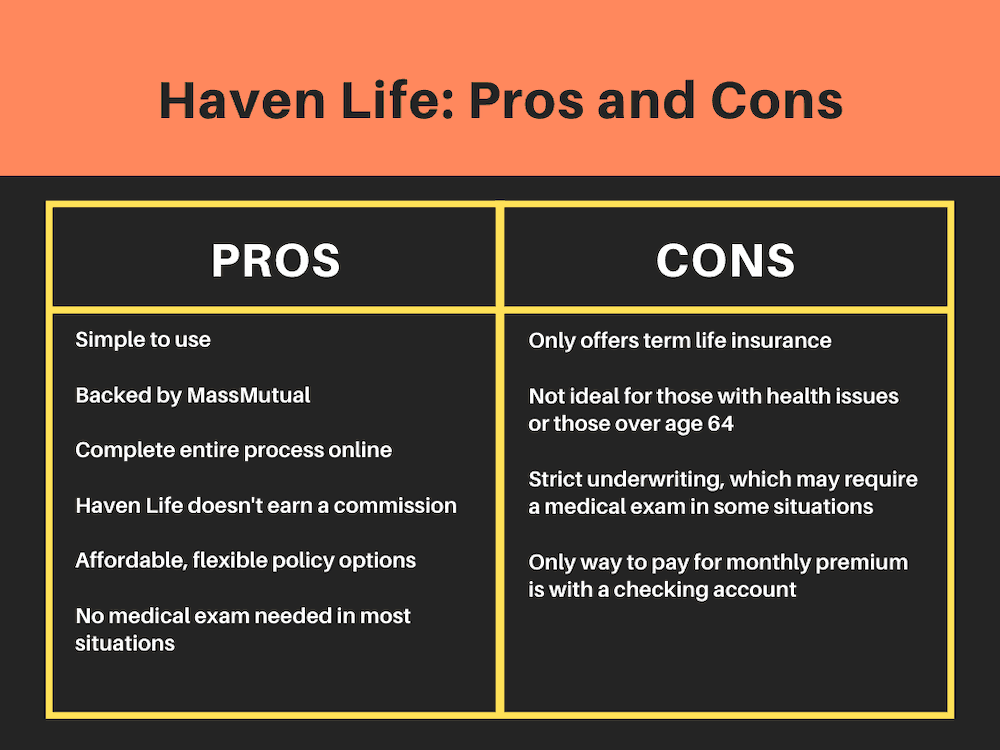 Haven Life Pros and Cons